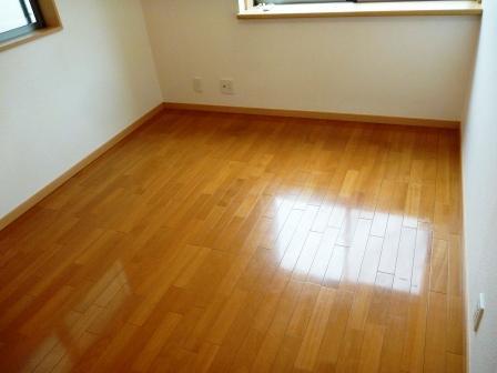床・CF・クッションフロア清掃前の写真