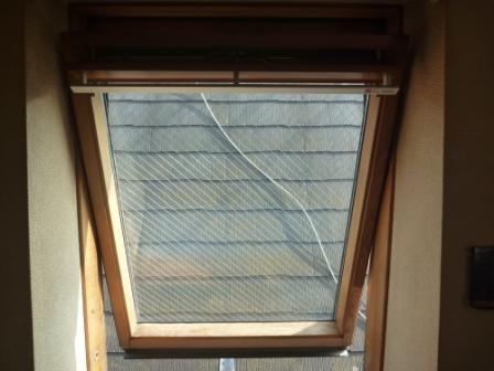 窓ガラス掃除ステッカー・シールはがし後の写真