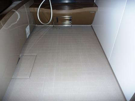 浴室清掃後の写真
