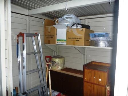 便利屋サービス お庭の片付け・物置内の整理整頓後の写真