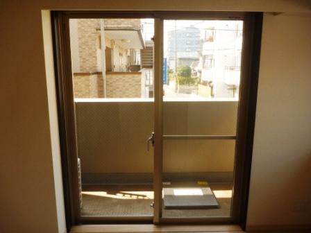品川区、窓ガラスクリーニング後の写真