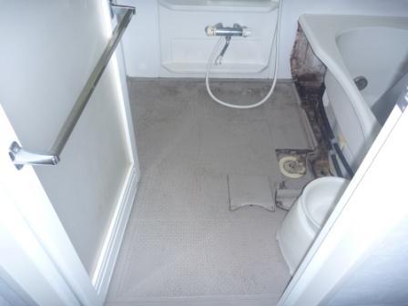 大田区、浴室清掃前の写真
