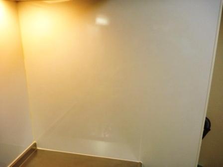 大田区、キッチン壁面クリーニング後の写真