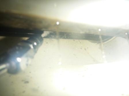 大田区、エアコンアルミフィン洗浄後の写真
