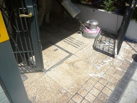 大田区、定期清掃後の写真