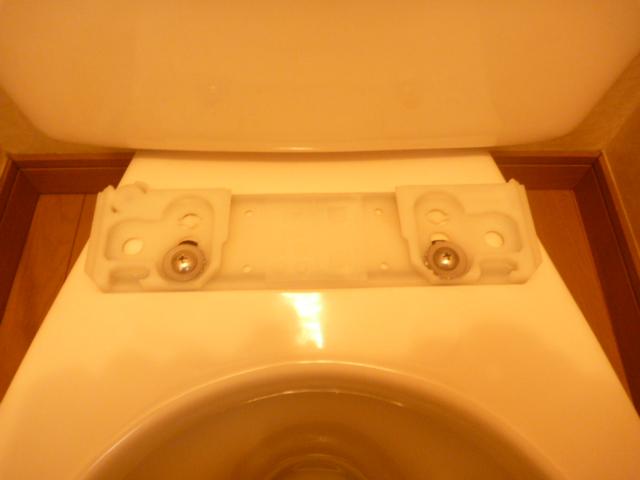品川区、トイレの掃除後の写真