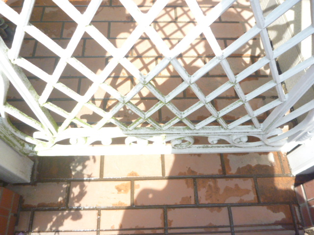 門扉・フェンスクリーニング前の写真