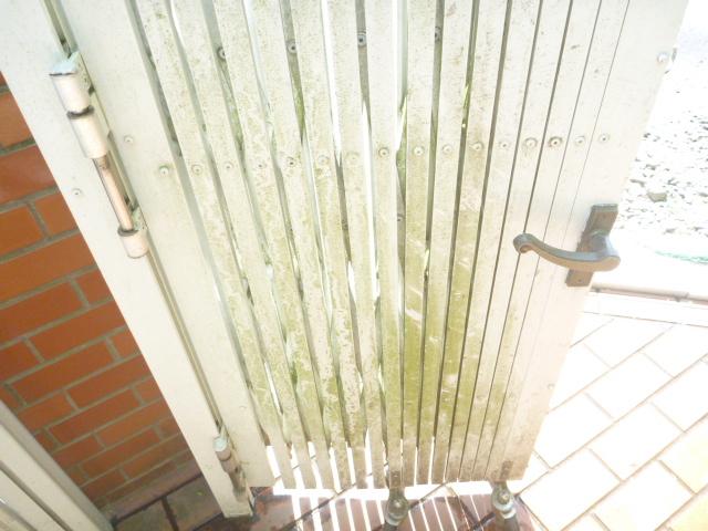 大田区、門扉・フェンスクリーニング前の写真
