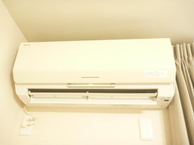 東京都大田区、三菱エコ洗剤お掃除機能付きエアコンクリーニング前