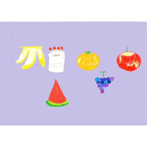 フルーツとケーキ/渡邉 さつき