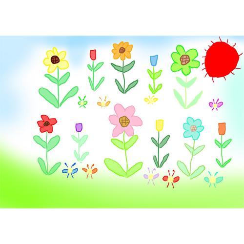 なつの花ばたけ/山下 哲治