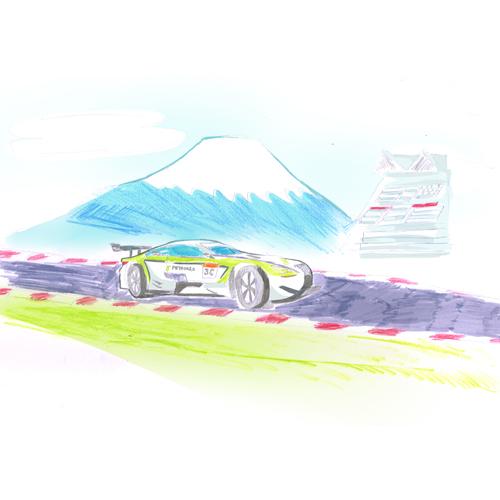 レース&サーキッド風景/H.K