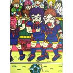 渡部顕太郎/JリーグFC東京でゴールをしてよろこぶFCイレブン