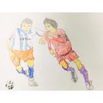 門脇文弥/サッカーの試合