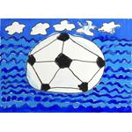 武田 颯斗/海を渡るサッカーボール