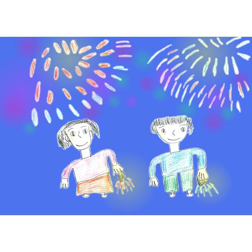 花火大会/長尾 真利子