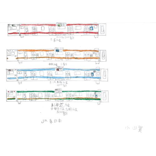 JR東日本E233系/小山 翼