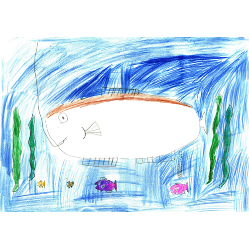 大人の魚が釣りあげられるところ/小野塚 健人