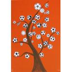 芳賀 春義/サッカーボールツリー