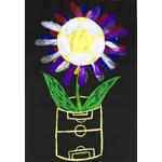 里山たぬき/ピッチにボールの花が咲く