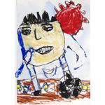 ミッキー画伯/サッカーみきおくん