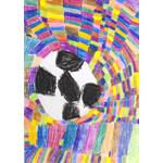 ももちゃん/夢のあるサッカーボール