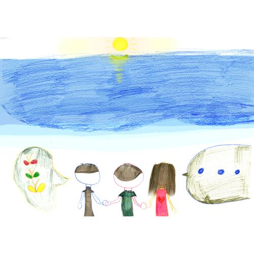 海と月/井戸川 絵美