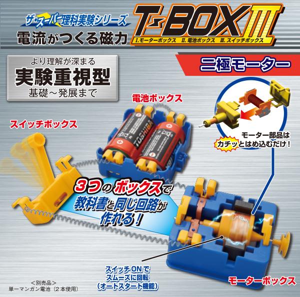 電流のはたらきT-BOXⅢ