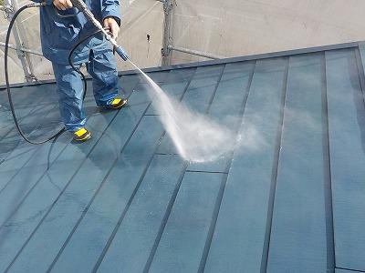 東京都大田区、屋根・外壁・床洗浄クリーニングの画像