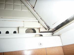 東京都大田区、浴室水垢・石鹸カス・カビ取りクリーニング画像