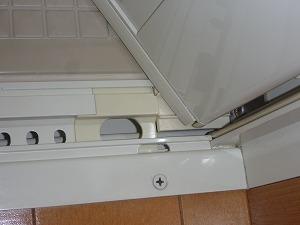 東京都大田区、浴室ドア清掃、カビ取り画像