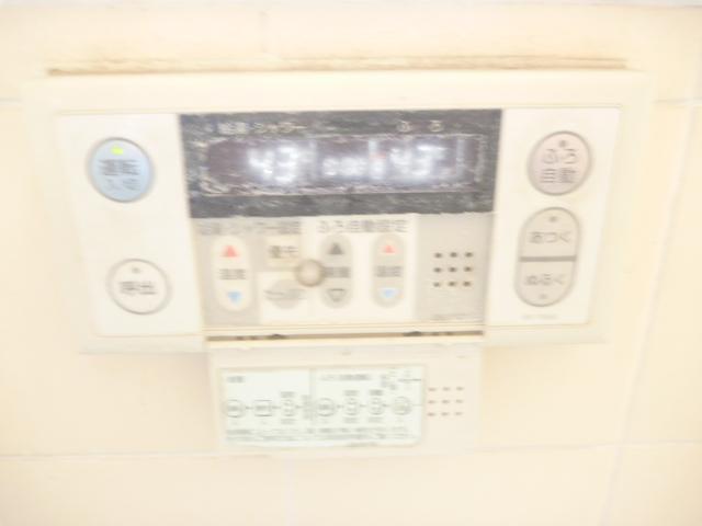 東京都大田区、浴室給湯操作パネルクリーニング前