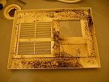 東京都品川区、浴室乾燥機能付き換気扇分解清掃の画像