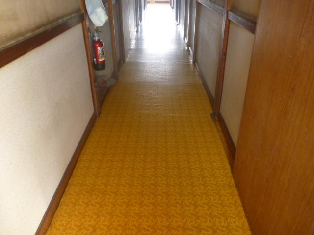 東京都大田区、アパート、マンション共用部分清掃後