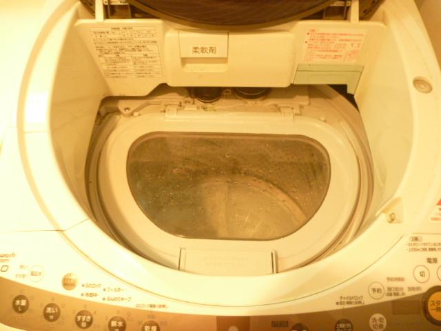 東京都大田区、パナソニック製洗濯機分解クリーニング前