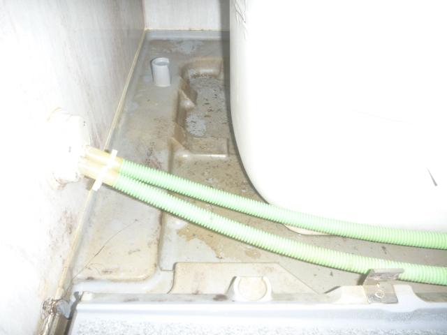 東京都大田区下丸子、ハウスクリーニングお風呂場掃除前