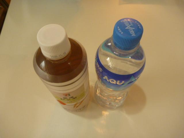 東京都大田区大森北、エアコンクリーニングのお客様から頂いた飲み物