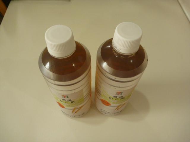 東京都大田区大森西、エアコンクリーニングのお客様から頂いた飲み物
