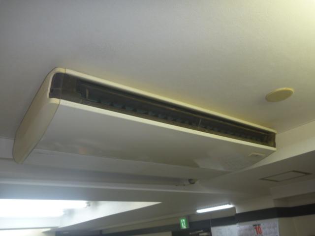 東京都大田区、デイサービス エアコン分解洗浄