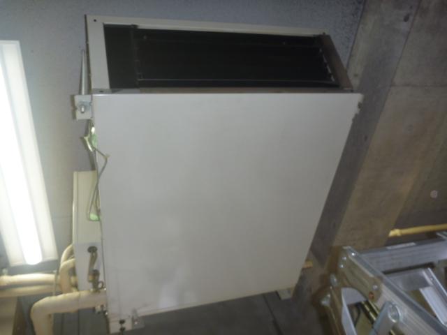 東京都港区、天井吊り形業務用エアコンクリーニングの画像