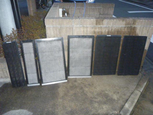 東京都品川区、業務用床置きエアコンクリーニングの画像