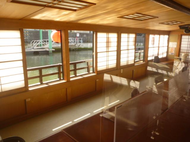 東京都大田区、船内クリーニングの画像