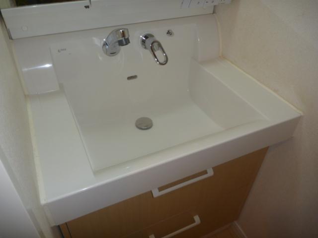 東京都大田区上池台、戸建て洗面台クリーニング