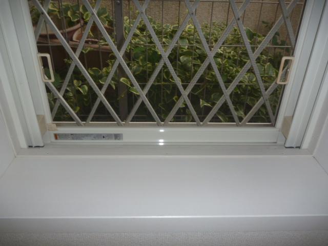 東京都大田区上池台、窓ガラスセットクリーニング