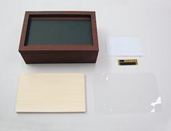 ウッディーフォトBOX(L)の素材カット