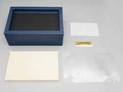 エナメルフォトBOX(L)の素材カット